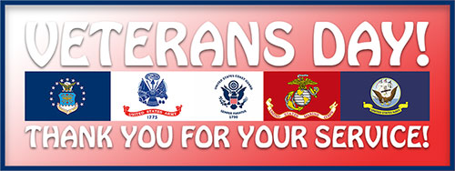 Thank You For Your Service Veterans Day ...