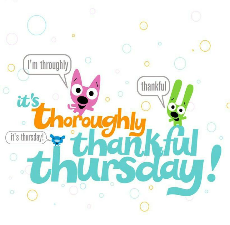 Thankful Thursday Clipart