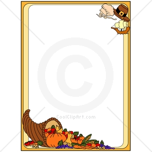thanksgiving border clipart - Free Thanksgiving Clip Art Borders