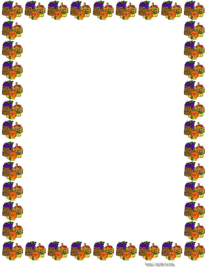 Thanksgiving Border Clipart-thanksgiving border clipart-15