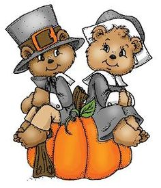 Thanksgiving Bear Pilgrims. Art Impressi-Thanksgiving Bear Pilgrims. Art Impressions Rubber Stamps..I have these stamps you can. Thanksgiving Clip Art FreeThanksgiving ...-19