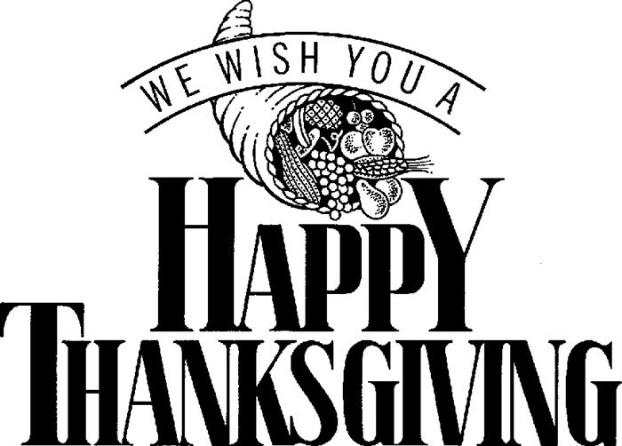 Thanksgiving black and white happy thanksgiving clipart black and white
