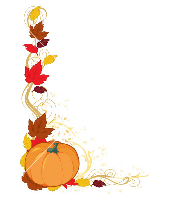 Thanksgiving border clipart free images 9