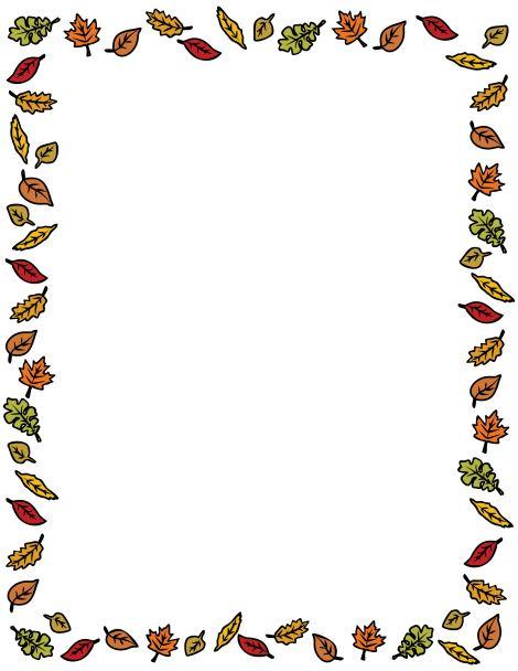 Thanksgiving Borders Clipart-Thanksgiving borders clipart-16