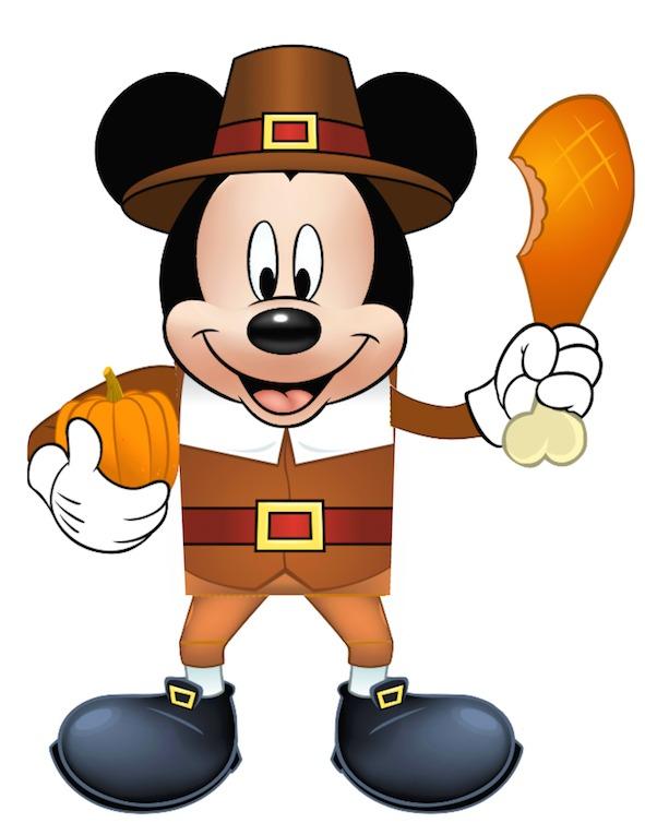 Thanksgiving Cartoon Characters