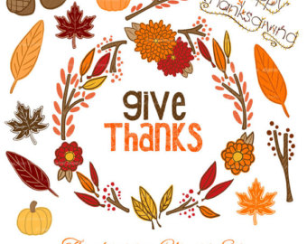Thanksgiving clip art 5 .