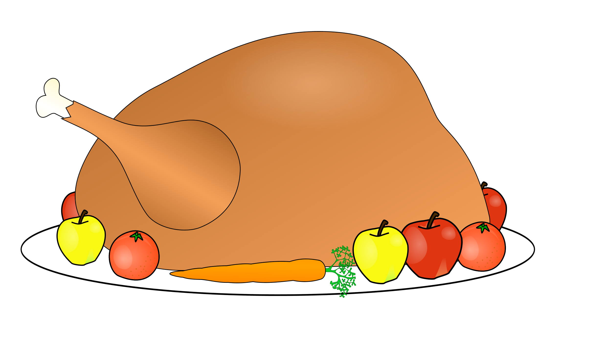 Thanksgiving Clip Art and Hot - Thanksgiving Food Clipart
