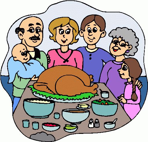 Thanksgiving clip art .
