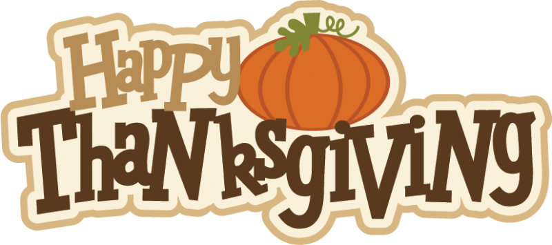 Happy Thanksgiving Clipart #1