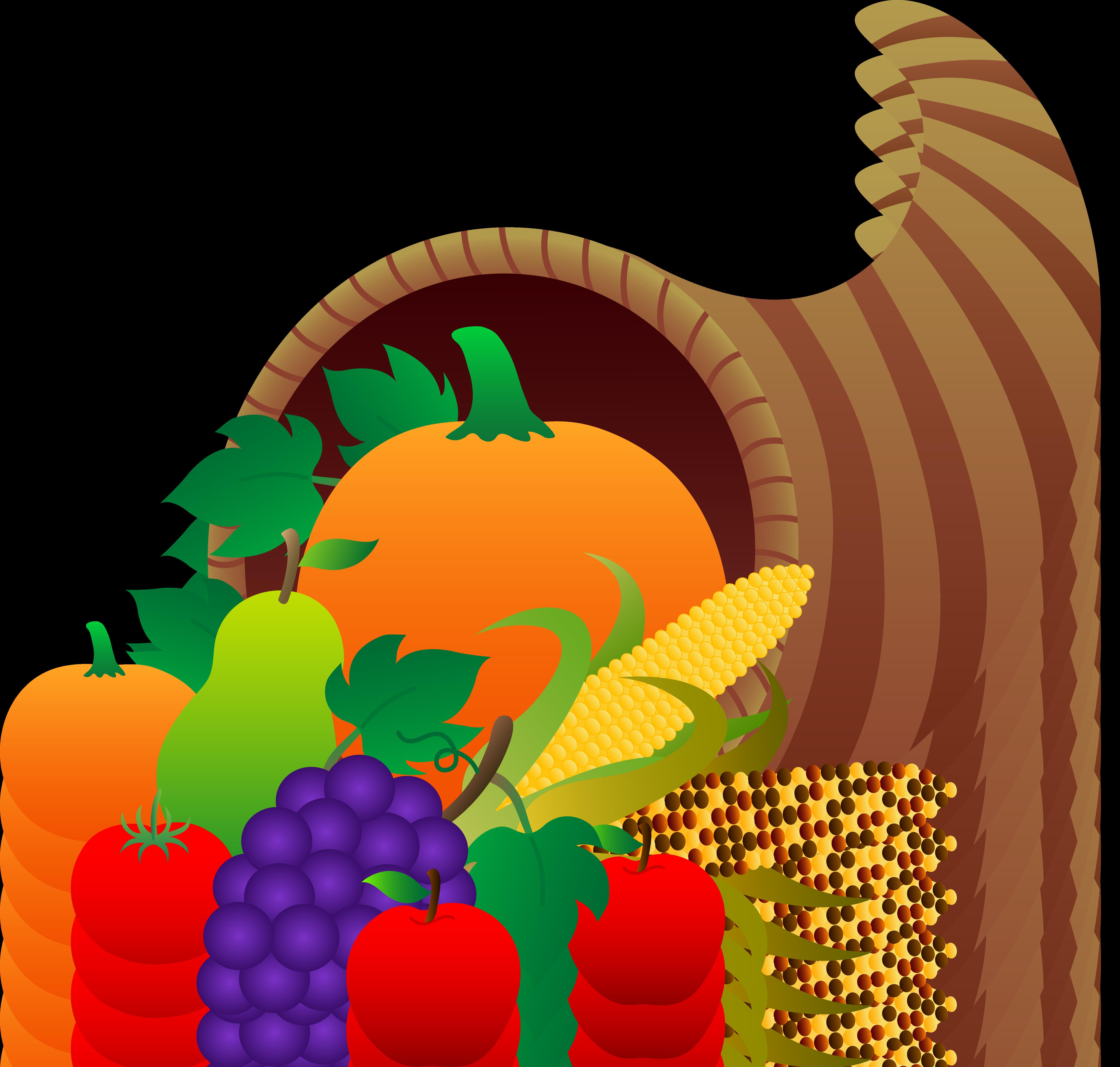 Thanksgiving Cornucopia - Free Clip Art-Thanksgiving Cornucopia - Free Clip Art-16