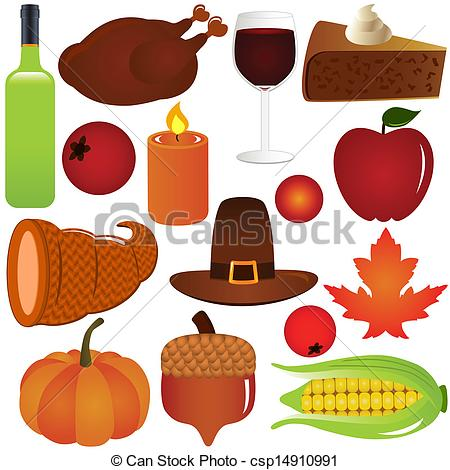 ... Thanksgiving, Fall season Vector - Thanksgiving / Fall.