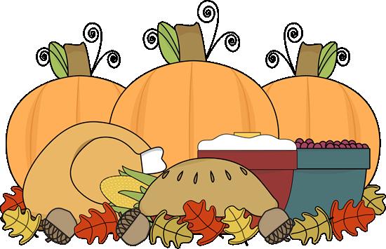 Thanksgiving Feast - Clip Art For Thanksgiving