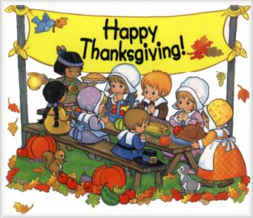 Thanksgiving Feast Clipart In - Thanksgiving Feast Clipart