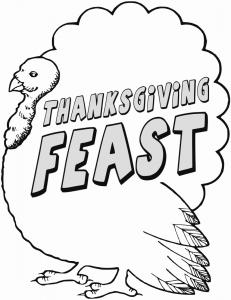 Thanksgiving Feast Flier Clipart