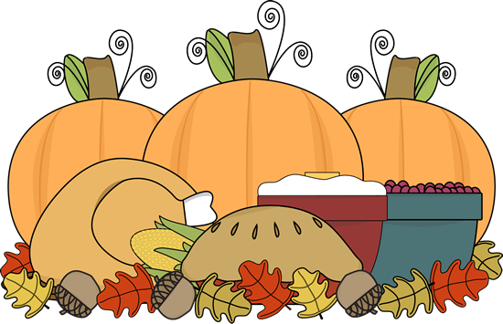 Thanksgiving Feast - Thanksgiving Feast Clipart
