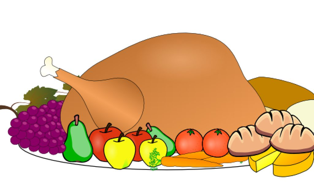 thanksgiving food clipart .