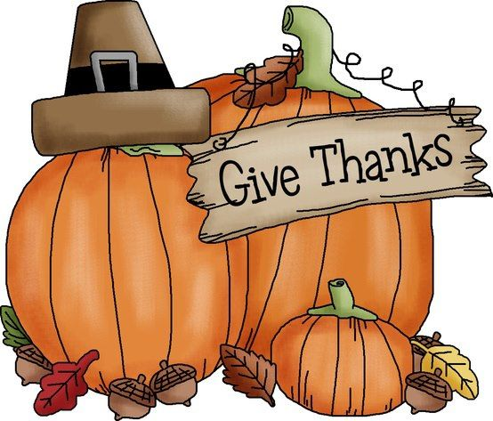 THANKSGIVING GIVE THANKS CLIP ART