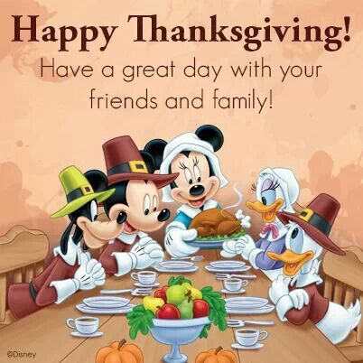 Thanksgiving. Thanksgiving Di - Mickey Mouse Thanksgiving Clipart
