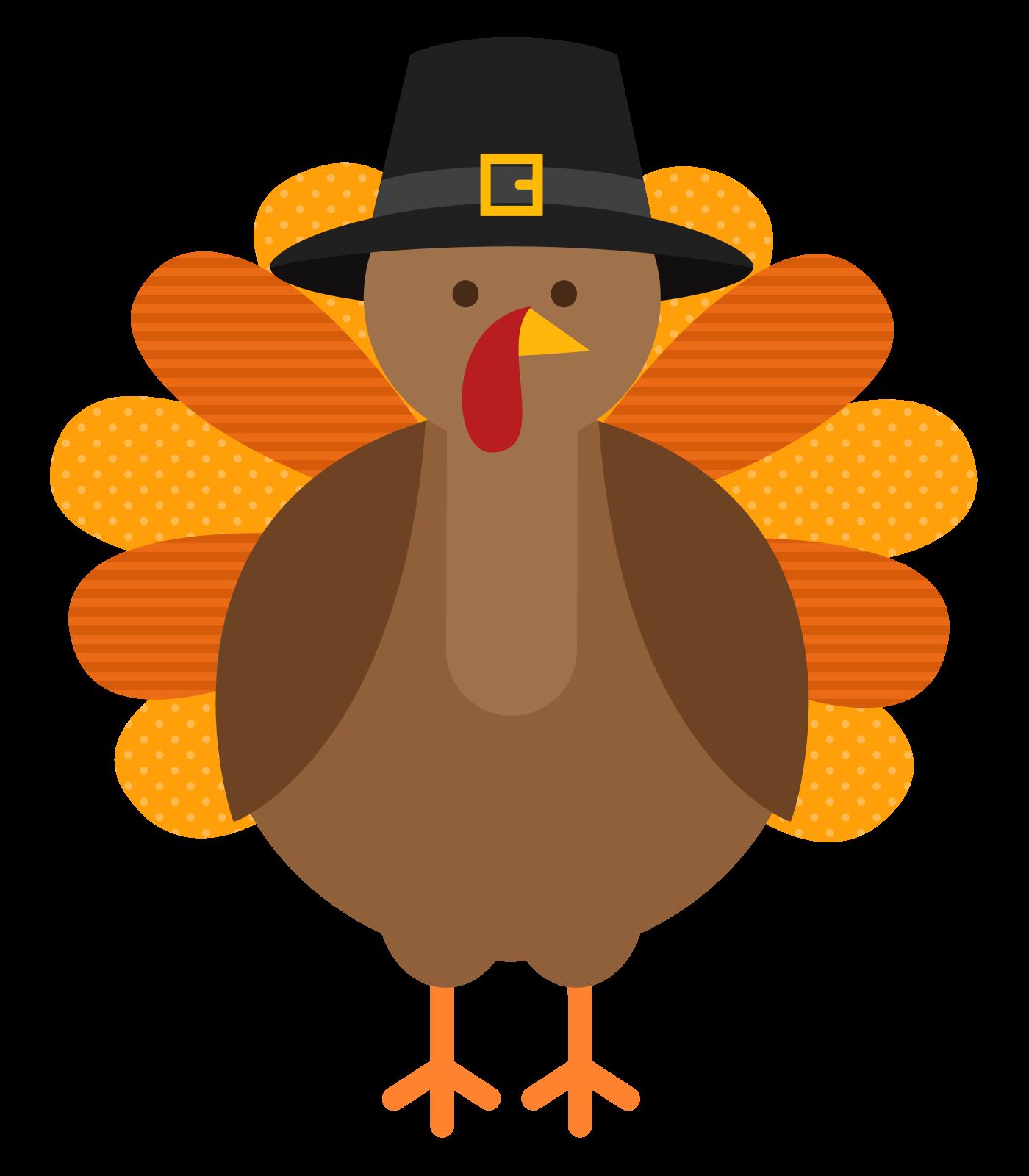 Thanksgiving turkey cartoon .