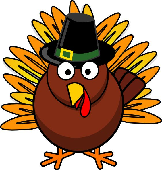 Thanksgiving Turkey clip .
