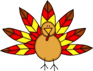 Thanksgiving turkey clipart free clipart images
