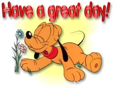 That Says Have A Great Day. enjoy your sunday clipart .