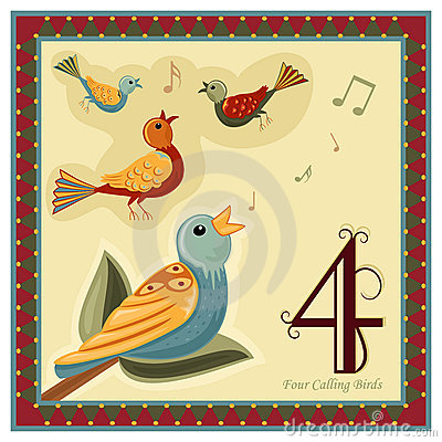 The 12 Days Of Christmas . - 12 Days Of Christmas Clipart