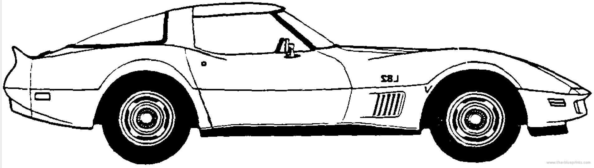 49+ Corvette Clipart | ClipartLook