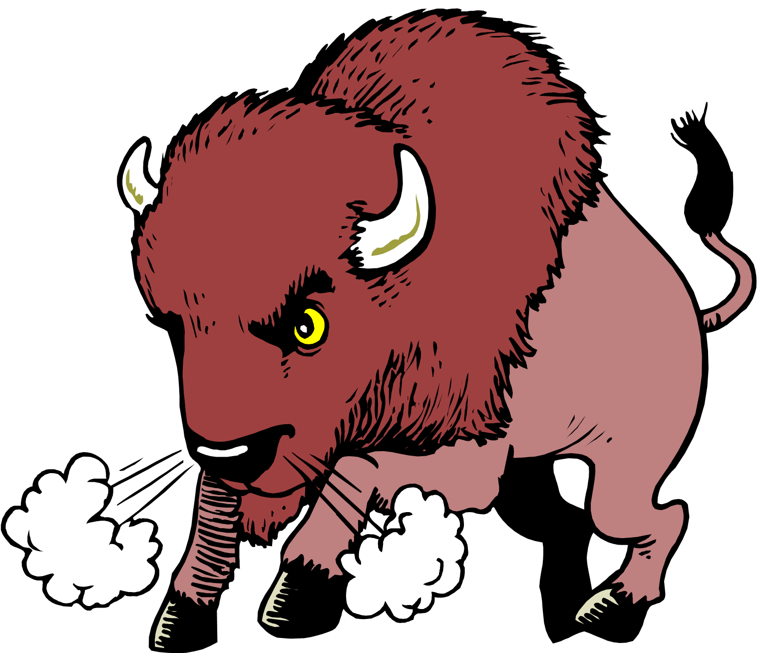 The Buffalo Say To His Son When He Went -The Buffalo Say To His Son When He Went Away On A Trip A Bison Q-16