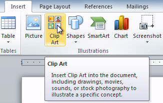 The Clip Art command-The Clip Art command-12