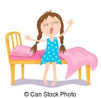 The cute girl wakes up.-The cute girl wakes up.-8