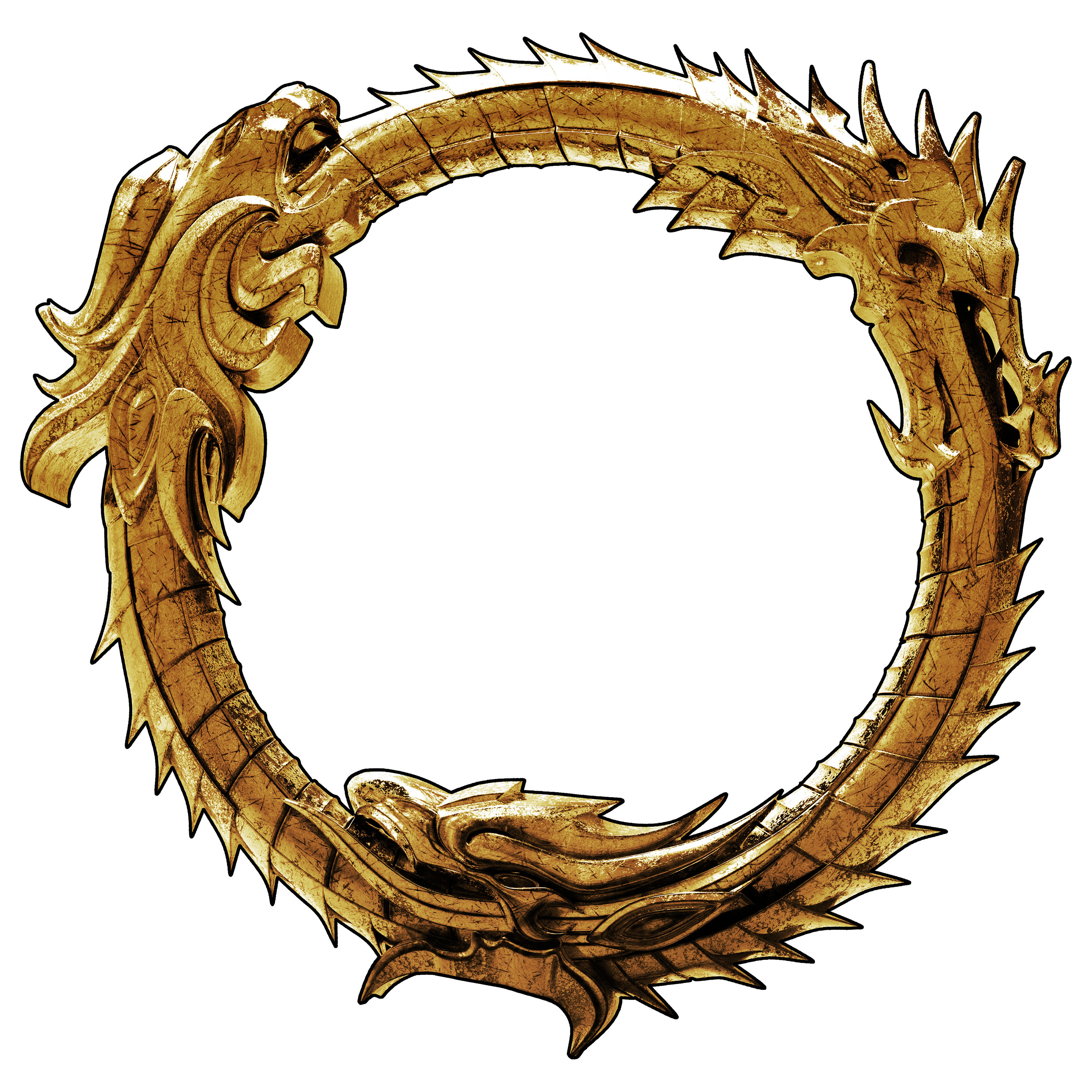 . ClipartLook.com 3D - The Elder Scrolls-. ClipartLook.com 3D - The Elder Scrolls Online Ouroboros Logo 3 by llexandro-0