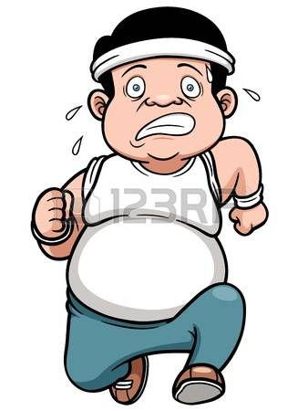 The Fat Man: Illustration Of Fat Man Jog-the fat man: illustration of fat man Jogging Illustration-19