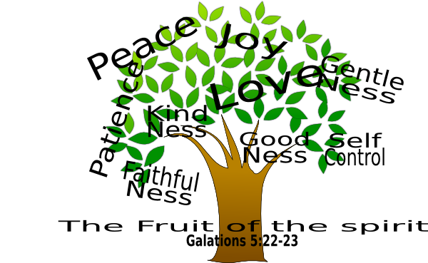 The Fruit Of The Spirit Clip Art At Clker Com Vector Clip Art Online