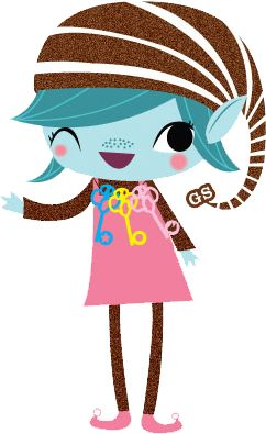 The girl scout brownie elf. 2 - Girl Scout Brownie Clip Art