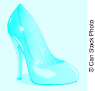 ... The Glass Slipper - A glass see through stiletto heel shoe The Glass Slipper Clipartby ...