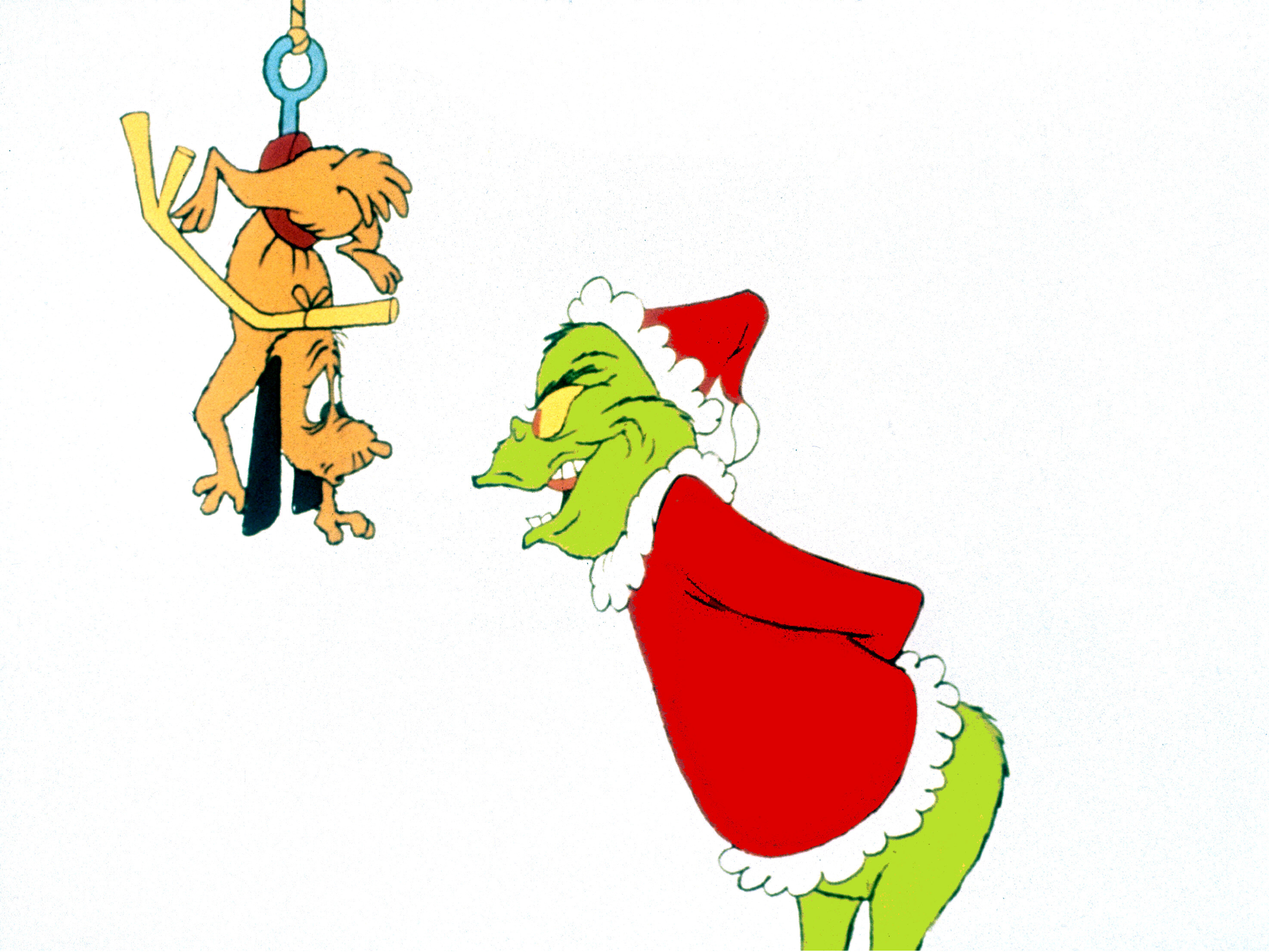 The Grinch Stole Christmas .