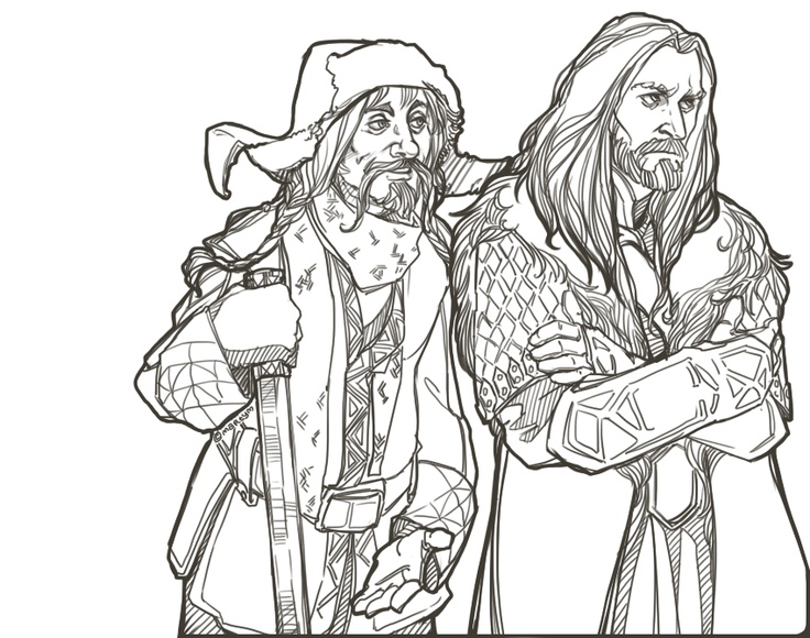 Hobbit Clipart Coloring Page Great The H-Hobbit Clipart Coloring Page Great The Hobbit Coloring Pages-16
