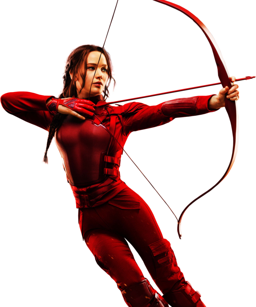 The Hunger Games: Mockingjay - Katniss HQ PNG #02 by BrielleFantasy ClipartLook.com