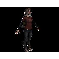 Ellie The Last Of Us PNG Image