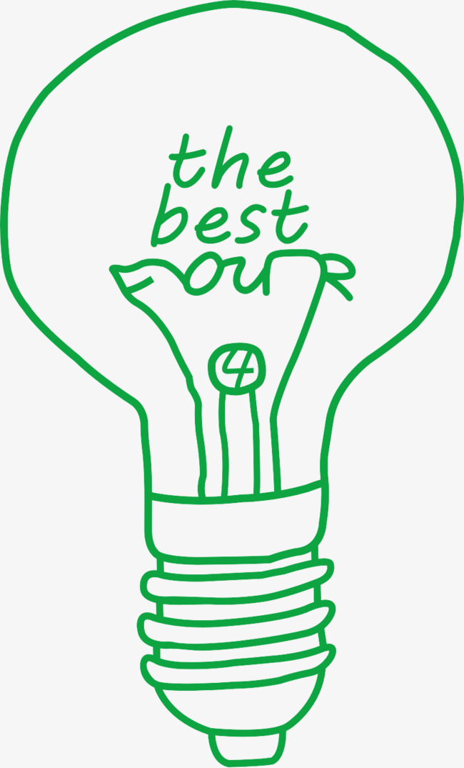 The last of us, Green, Light Bulb, Hand Painted Free PNG Image and Clipart