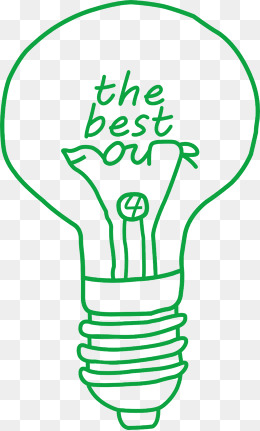 the last of us, Green, Light Bulb, Hand Painted PNG Image and Clipart