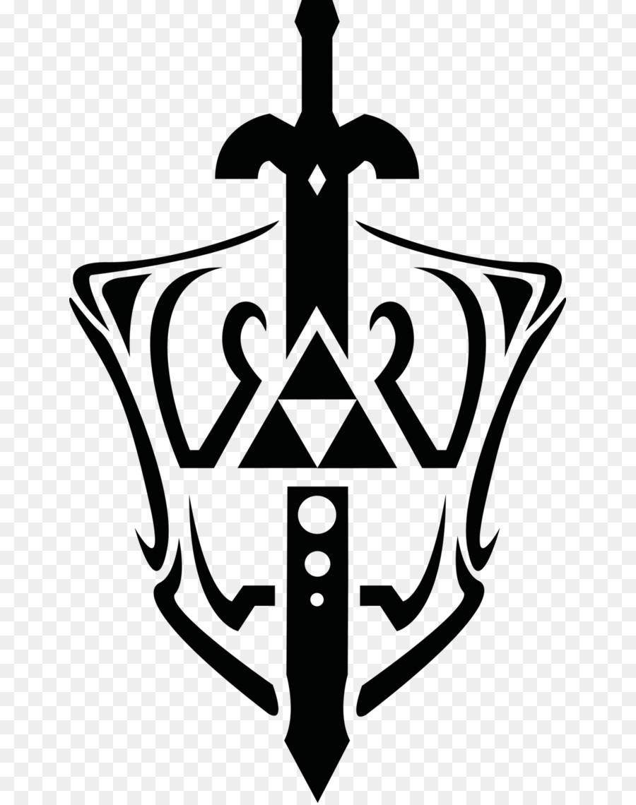 The Legend Of Zelda: The Wind Waker Trif-The Legend of Zelda: The Wind Waker Triforce Master Sword Clip art - Master  Sword Cliparts-17