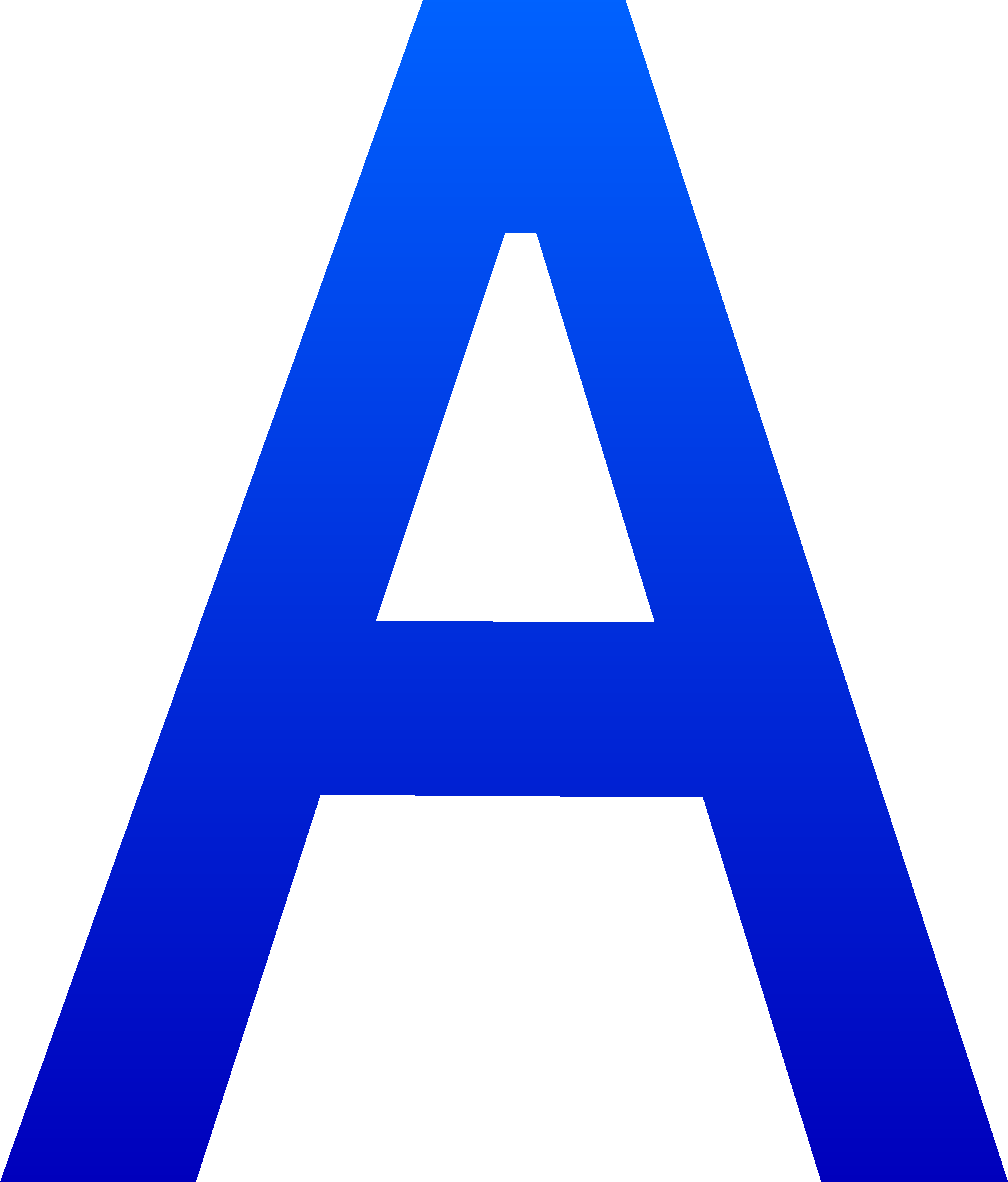 The Letter A - Free Clip Art-The Letter A - Free Clip Art-1