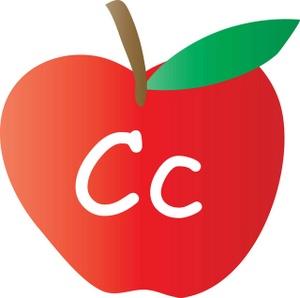 The Letter C Written On It .-The Letter C Written On It .-6