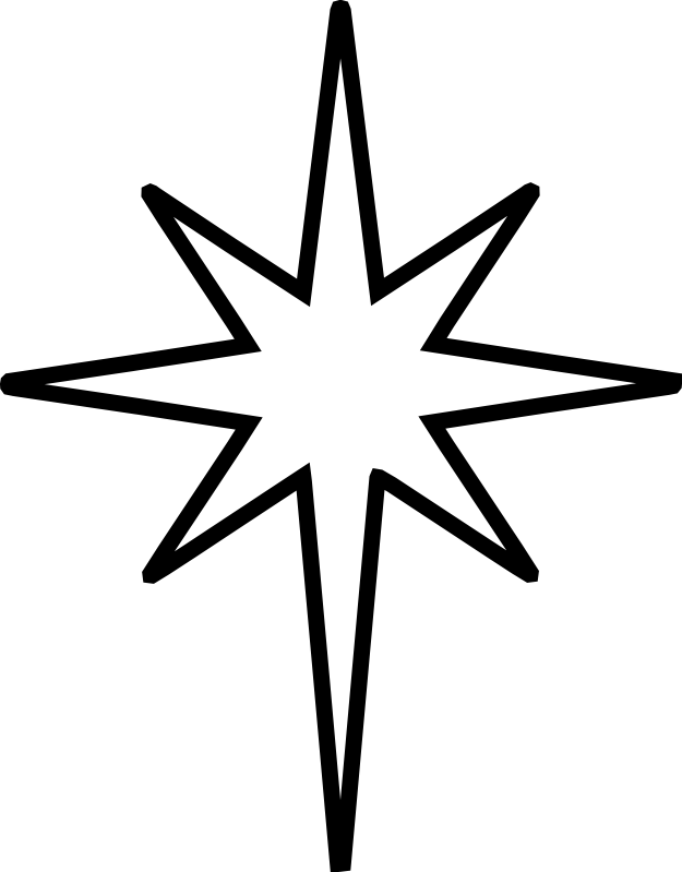 The Nativity Star Is The Symbol Of The Star Of Bethlehem Or Epiphany