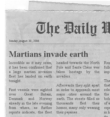 The Newspaper Clipping Generator. Newspa-The Newspaper Clipping Generator. Newspaper-2
