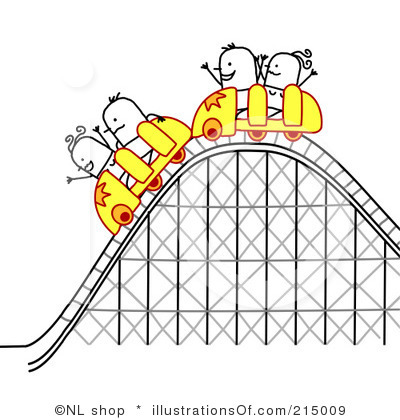The Regression Roller Coaster - Rollercoaster Clipart