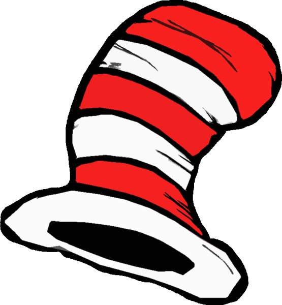 The secret hatllection of dr seuss clipart free clip art images