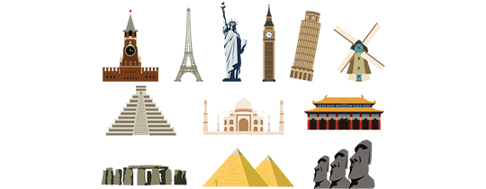 The Seven Wonders Clipart-Clipartlook.com-540